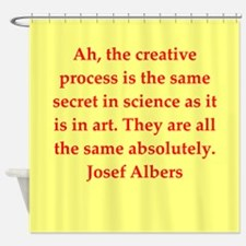albers2.png Shower Curtain