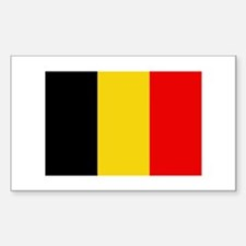 Belgian Flag Decal