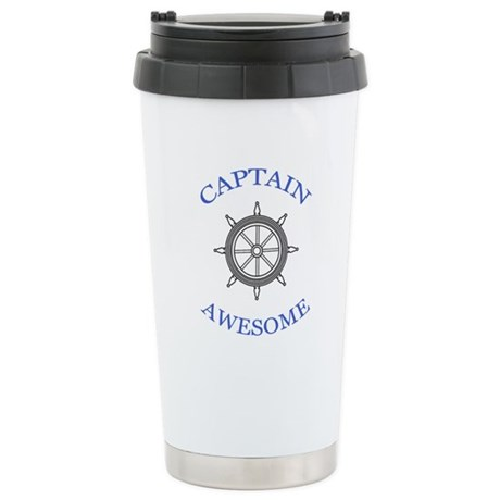 """""""Captain Awesome"""" Stainless Steel Travel"""