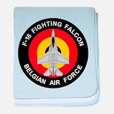 F-16 Falcon Baby Blanket