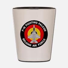 F-16 Falcon Shot Glass