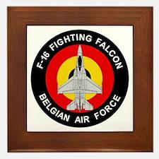 F-16 Falcon Framed Tile