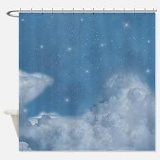 Stars sky Shower Curtain