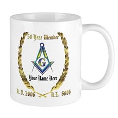 Masonic Award Mug