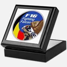 F-16 Falcon Keepsake Box