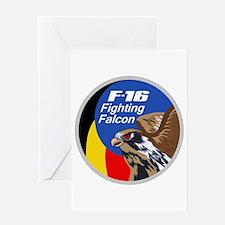 F-16 Falcon Greeting Card