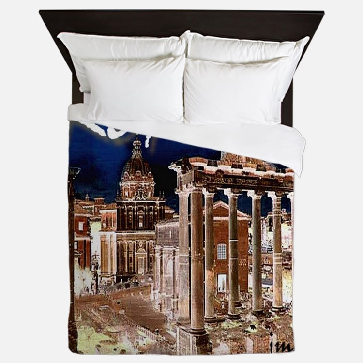 Ancient Rome Queen Duvet