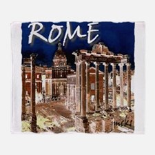 Ancient Rome Throw Blanket