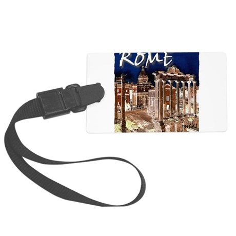Ancient Rome Large Luggage Tag