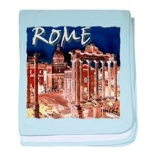 Ancient Rome baby blanket