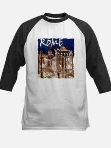 Ancient Rome Kids Baseball Jersey