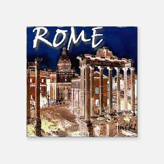 """Ancient Rome Square Sticker 3"""" x 3"""""""