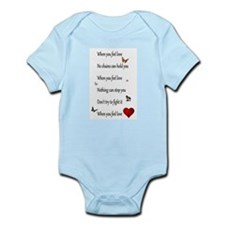 Find your strength in love Infant Bodysuit