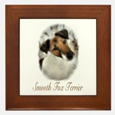 Smooth Fox Terrier Framed Tile
