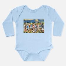 Maurice Prendergast Bathers Long Sleeve Infant Bod