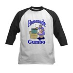 New Orleans Food: Gumbo Kids Baseball Jersey