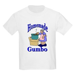 New Orleans Food: Gumbo Kids T-Shirt