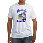 New Orleans Food: Gumbo Fitted T-Shirt