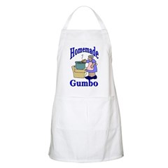 New Orleans Food: Gumbo BBQ Apron