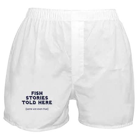 Fish Stories Boxer Shorts
