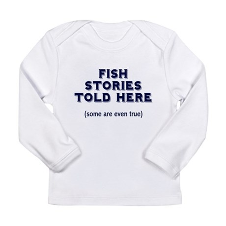 Fish Stories Long Sleeve Infant T-Shirt