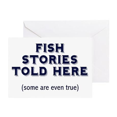 Fish Stories Greeting Card