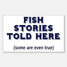 Fish Stories Decal