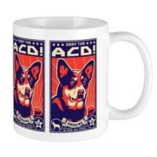 Obey the Australian Cattle Dog! Coffee Mug