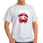 Boiled Crabs Ash Grey T-Shirt