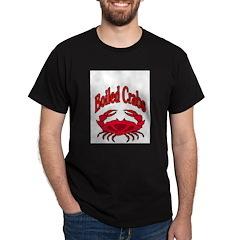Boiled Crabs Black T-Shirt