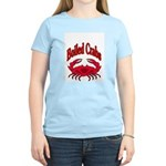 Boiled Crabs Women's Pink T-Shirt