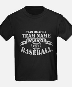 PERSONALIZED FANTASY BBALL GREY T