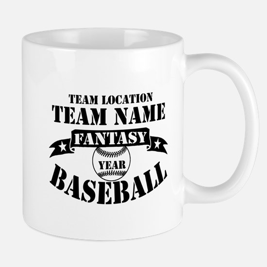 Personalized Fantasy Baseball Mug