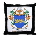 O'Carry Coat of Arms Throw Pillow