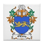 O'Carry Coat of Arms Tile Coaster