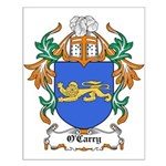 O'Carry Coat of Arms Small Poster