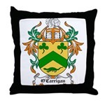 O'Carrigan Coat of Arms Throw Pillow