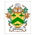 O'Carrigan Coat of Arms Small Poster