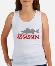 WALLEYE ASSASSIN Women's Tank Top
