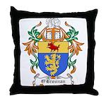 O'Brosnan Coat of Arms Throw Pillow