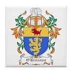 O'Brosnan Coat of Arms Tile Coaster