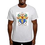 O'Brosnan Coat of Arms Ash Grey T-Shirt