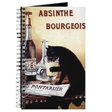 Vintage Chick Absinthe Bourgeois Journal