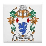 O'Brennan Coat of Arms Tile Coaster