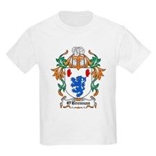 O'Brennan Coat of Arms Kids T-Shirt