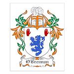O'Brennan Coat of Arms Small Poster