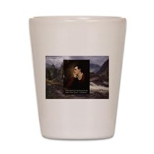 Lord Byron They sweet voice Quote Shot Glass