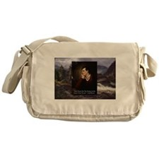 Lord Byron They sweet voice Quote Messenger Bag