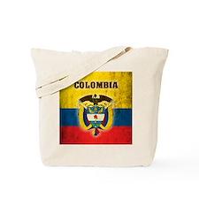 Vintage Colombia Tote Bag