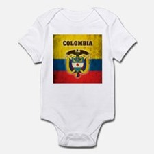 Vintage Colombia Infant Bodysuit